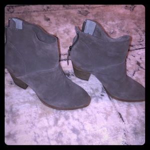 Chinese Laundry Suede booties! 6.5